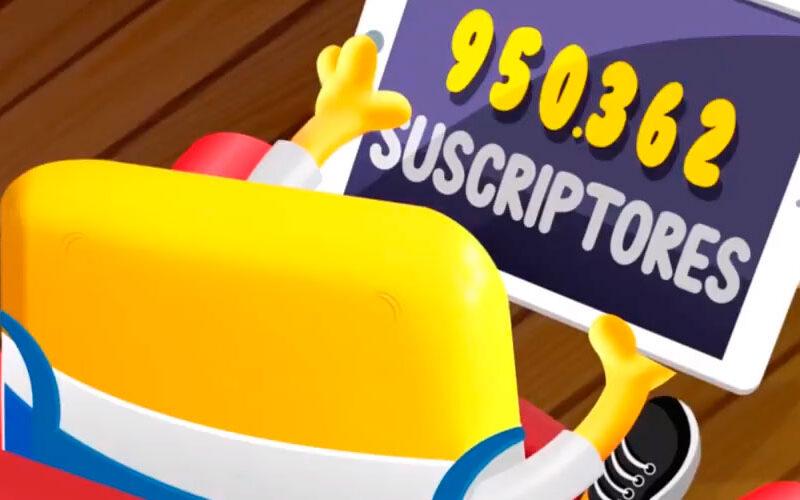 Aula365 alcanzó el millón de suscriptores en Youtube
