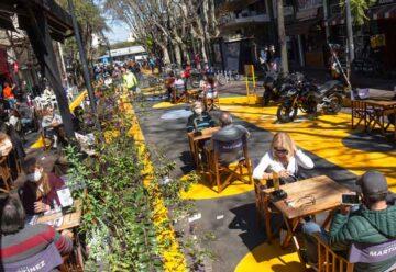 Nuevas apertura de Áreas peatonales transitorias en la ciudad
