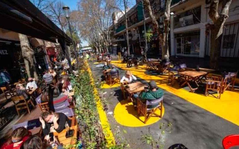 La apertura de áreas peatonales suma 80 cuadras en la Ciudad