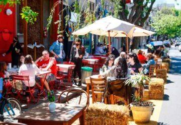 Habilitan más áreas peatonales transitorias en Belgrano y Palermo