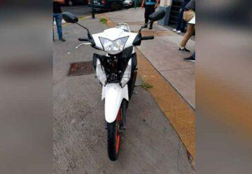 Atrapan a un ladrón de motos en Villa del Parque