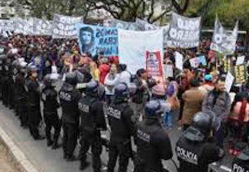 Que la Nación se haga cargo por las manifestaciones