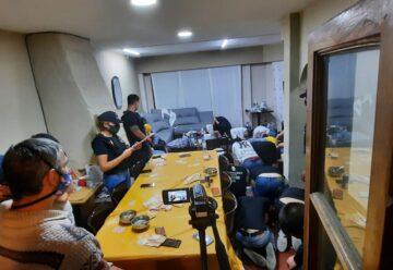 Desmantelan casino en Belgrano en plena pandemia