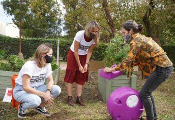 La Ciudad inauguró una Compostera Comunitaria