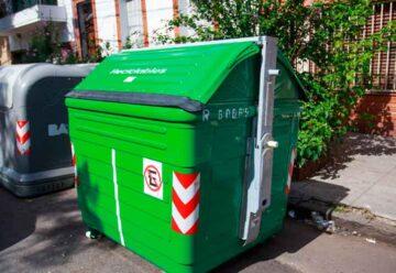 Ciudad: Nuevos contenedores verdes