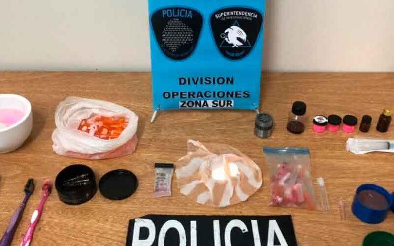 Desarticulan banda narco que fabricaba cocaína ros