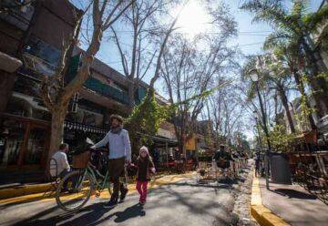 Se multiplican las áreas peatonales en la Ciudad