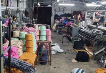 Clausuran dos talleres textiles clandestinos