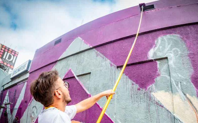 La Ciudad busca a muralistas para intervenir espacios