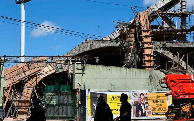 Derrumbe: La AGC asegura que la obra estaba clausurada